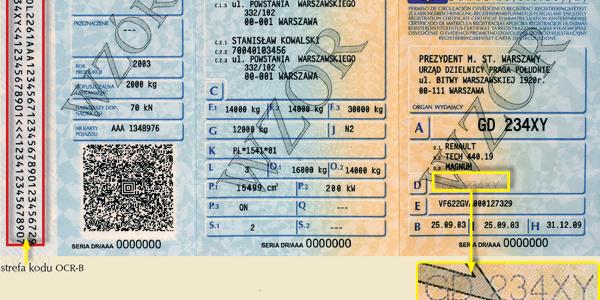 Odbiór stałego dowodu rejestracyjnego Gdynia