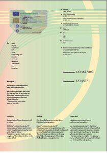 Nowy dowód rejestracyjny Holenderski cześć II