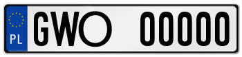 Tablice rejestracyjne w Wejherowie rozpoczną się od GWO