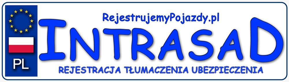 Biuro tłumaczeń i rejestracja pojazdów Intrasad Logo
